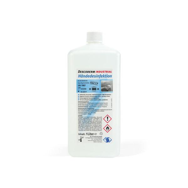 Desinfektion Descoderm Industrial 1 Liter-Flasche